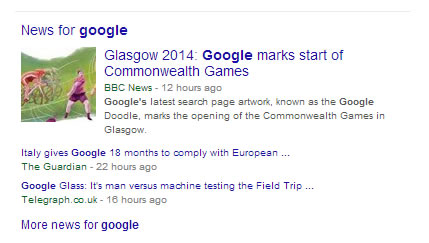 Can you get a news section of your site into google news? featured image