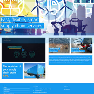 ThyssenKrupp Supply Chain Services Website Screenshot