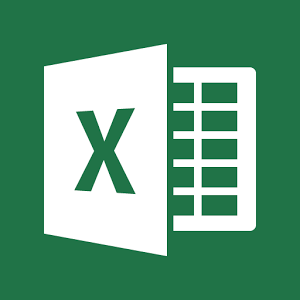Microsoft Excel logo on green background